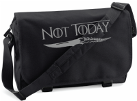 NOT TODAY M/BAG - INSPIRED BY GAME OF THRONES  ARYA STARK